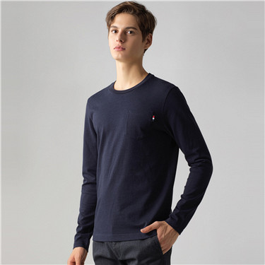 Long sleeves crewneck tee