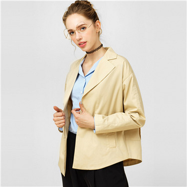 Canvas casual suit coat