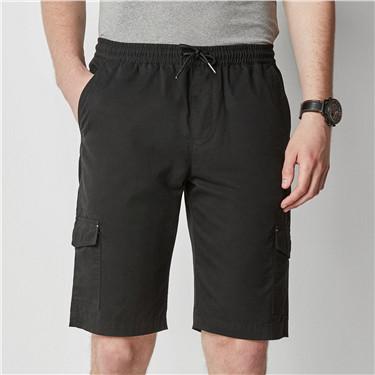 Pockets casual shorts